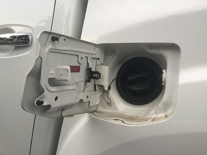 loose gas cap