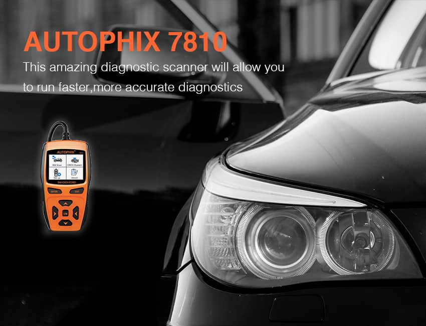 The Autophix 7810 is a professional BMW scan tool