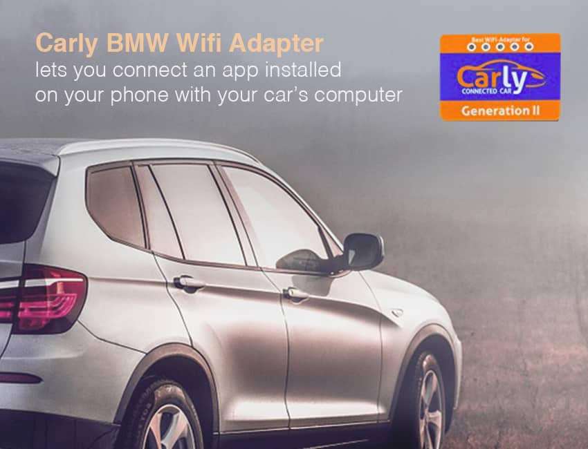 Carly BMW wifi adaptor is one of the best bmw scan tool