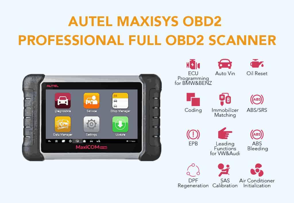 Autel Maxisys OBD2 Professional Full OBD2 Scanner
