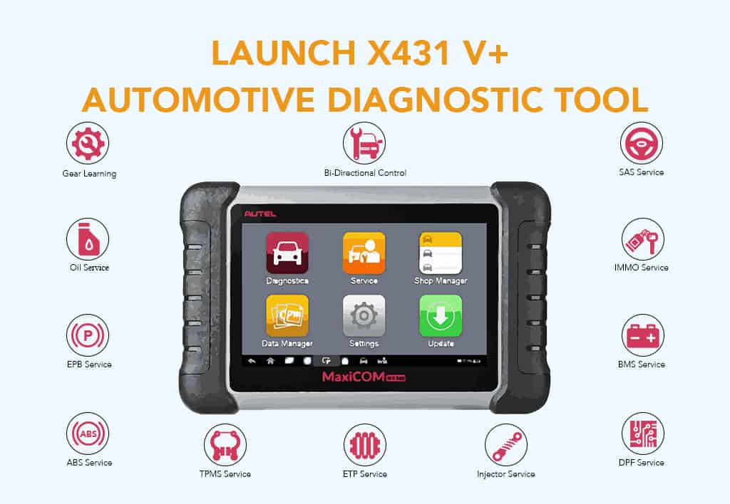 Launch X431 V+ Automotive Diagnostic Tool