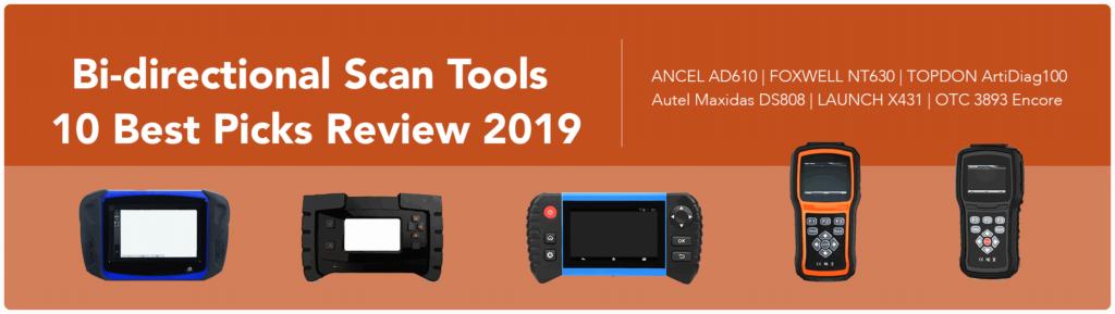 Bi Directional Scan Tool >> Bi Directional Scan Tools 10 Best Picks Review 2019 Obd
