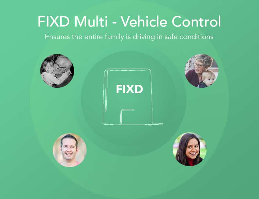 FIXD ensures the entire family is driving in safe conditions