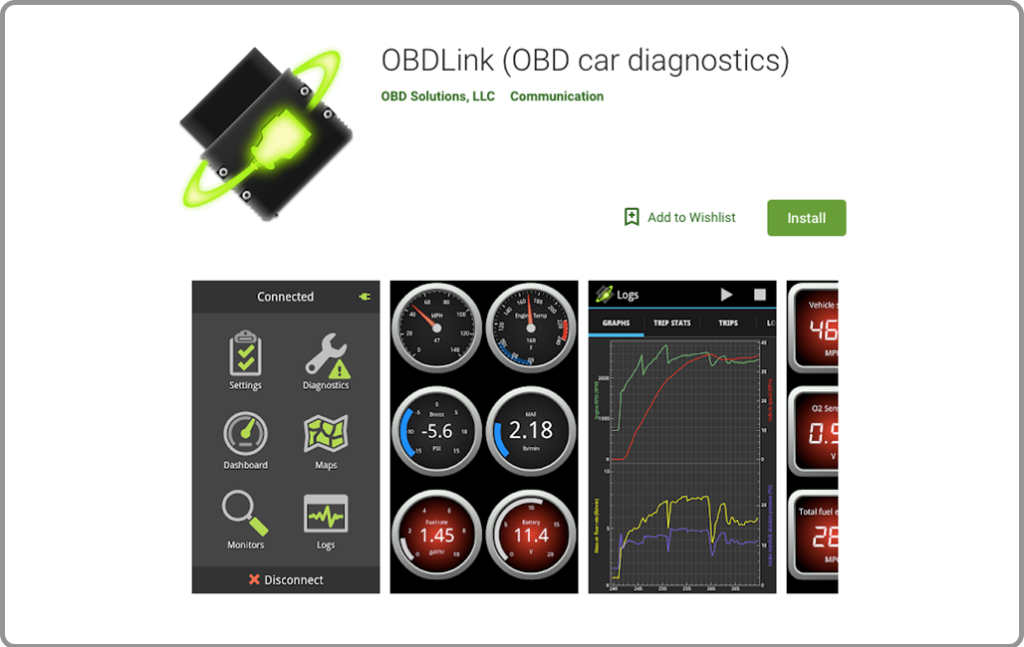 ObdLink app for android