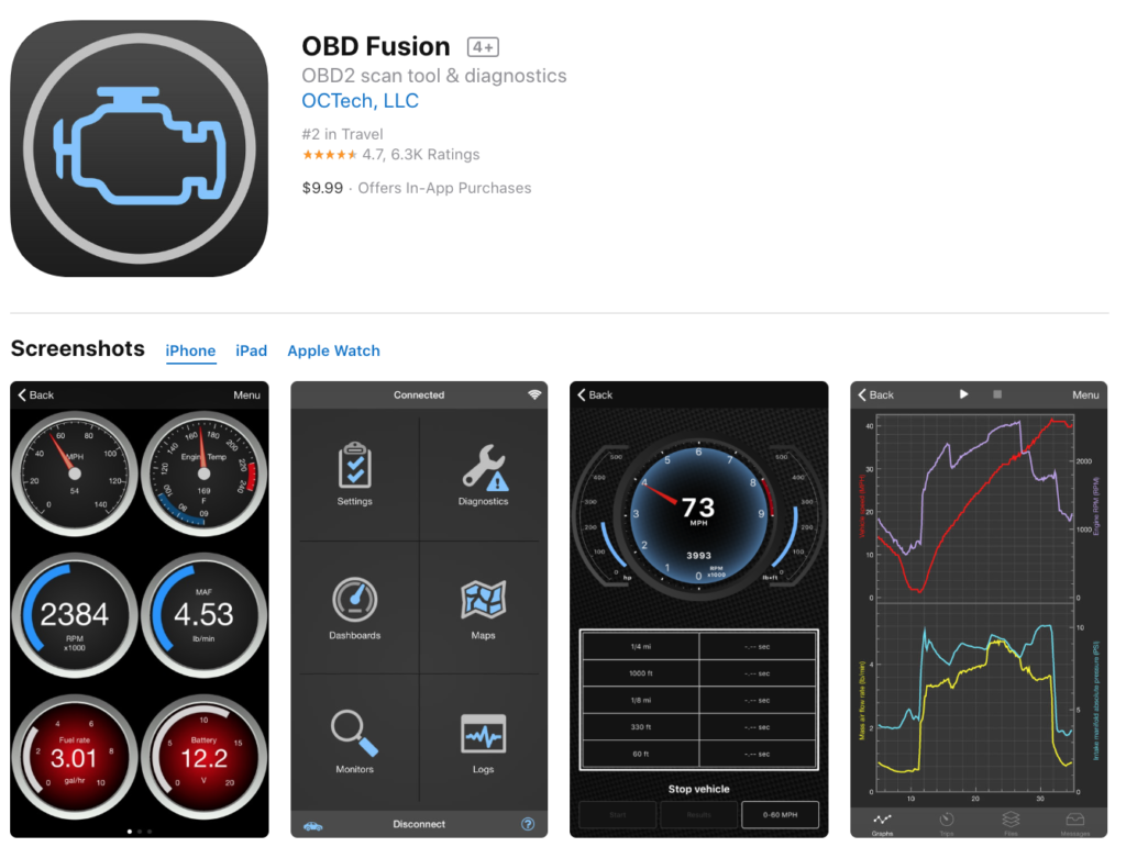 Iphone obd2 apps