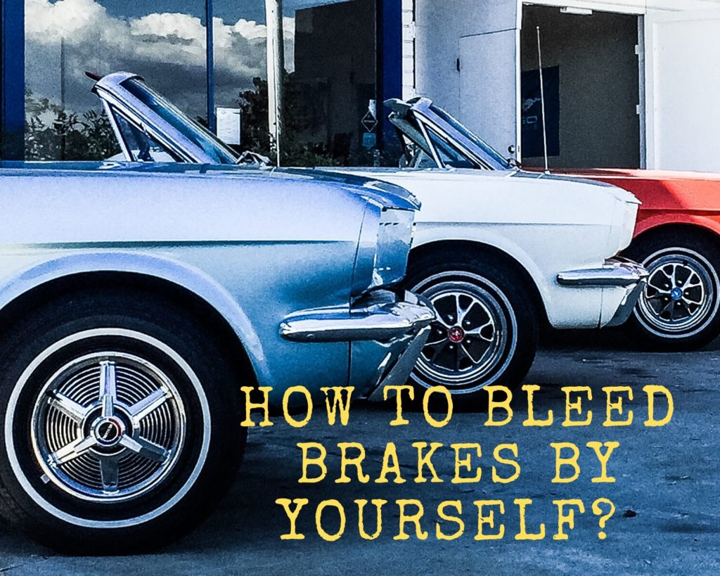 How to Bleed Brakes By Yourself