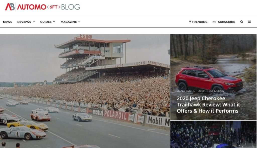 Automoblog is one of the best auto blogs about car