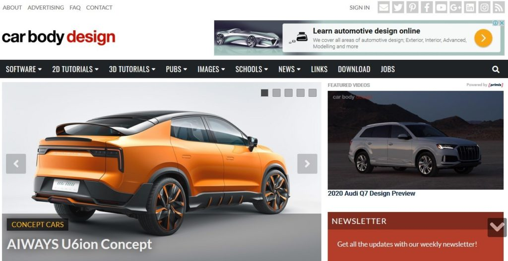 Car body design Blog is one of the best auto blogs about car