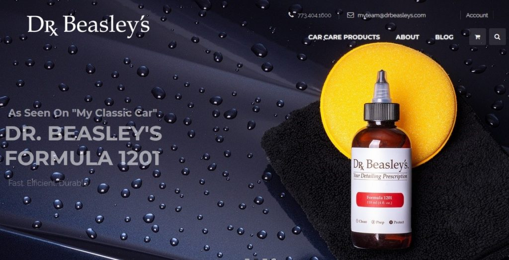 Dr. Beasley's Car Care Products Blog is one of the best auto blogs about car